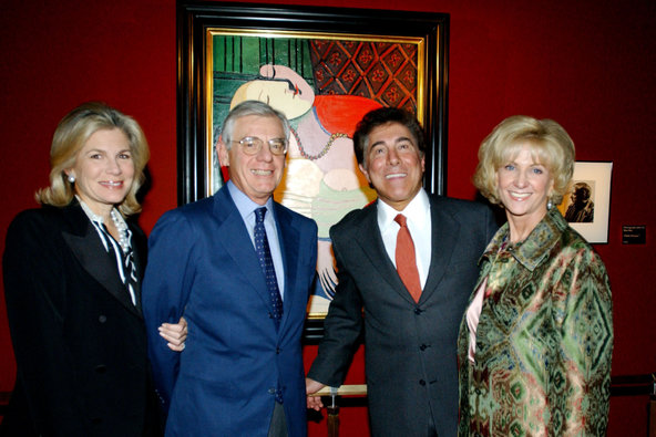 Steve Wynn with his Picasso Le Reve