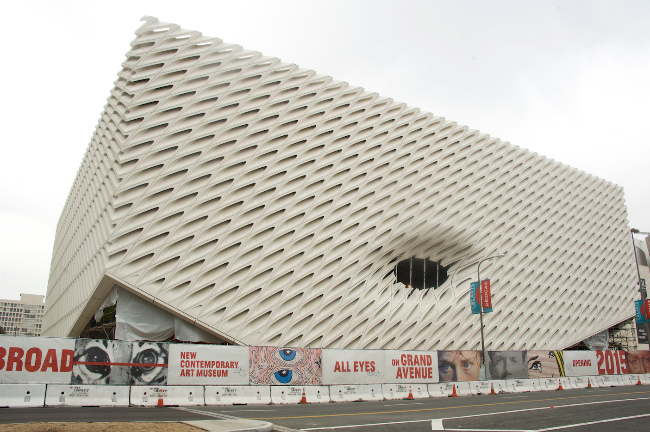 The Broad Museum, 2015